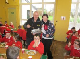CHRISTMAS DINNER AT ST ANNE'S