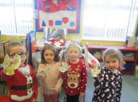 Getting ready for Christmas in P1-P3