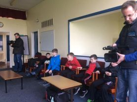 St Anne's and Knockahollet P5s trip to Bushmills