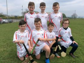 Cumann na mBunscoil hurling and camogie 7sthose who played for the first time