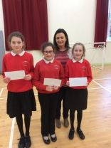 Credit Union competition winners