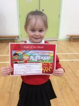 Pupil of the week 24/01/18