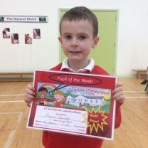Pupil of the Week - 12th September