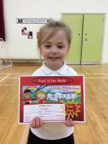 Pupil of the Week- 10th October