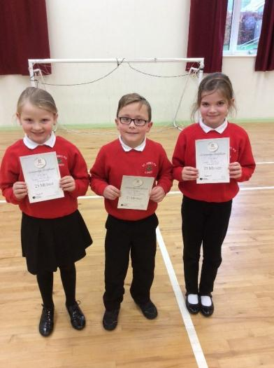 Our 25 metre award winners