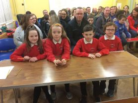 'St Anne's P7 A Team came 1st in Credit Union Quiz'